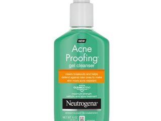 Neutrogena Acne Proofing cleanser   Salicylic Acid   GEl