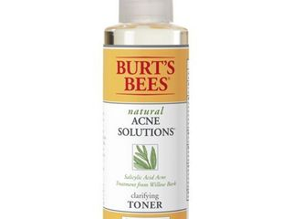 Burts Bees Natural Acne Solutions Clarifying Toner  Face Toner for Oily Skin  5 Ounces