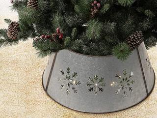 Glitzhome Christmas Metal Diecut Snowflake