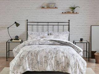 Madison Park Essentials lilia King 9 Pc  Reversible Comforter Set Bedding