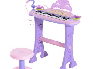 Qaba 32 Key Electronic Kid s Toy Keyboard