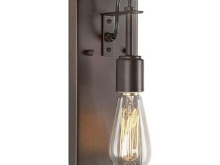Forte lighting 7113 01 32 11 Inch One light Wall Sconce Antique
