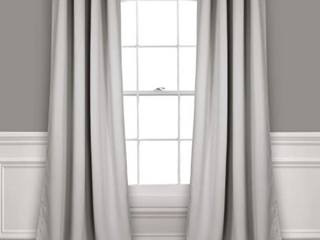 lush Decor Gormmet Sheer Panels W  Insulted Blackout Curtains