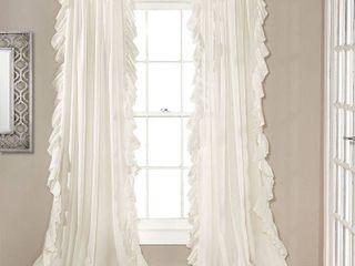 95 x54  Reyna light Filtering Window Curtain Panel   lush Decor