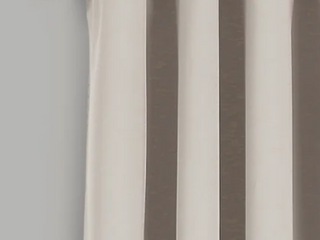 lush Decor Insulated Grommet Blackout Curtains Beige Set of 2