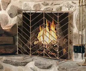 Modern Fireplace Screen