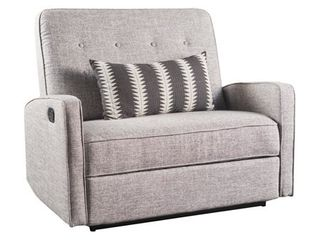 Calliope Fabric Oversized Recliner Chair by Christopher Knight Home  Retail 495 99