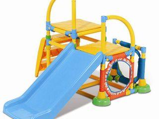 Climb  n Slide Multicolor Gym  Retail 141 99