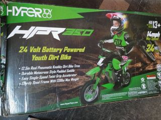 HPR 350 24 Volt Battery Powered Youth Dirt Bike Age 13