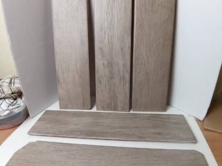 Ceramic Tile Flooring 24 x6  set of 9 wood grain