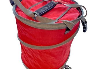 Ozark Trail 50 Can Collapsible Pop Up Cooler with Quick In Access  Red