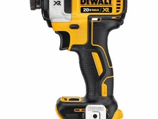 DEWAlT DCF887B 20V MAX XR li Ion Brushless 0 25  3 Speed Impact Driver