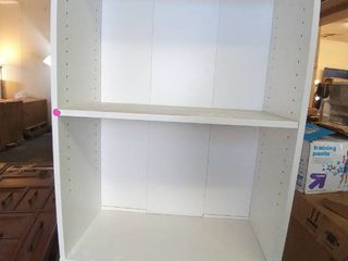 White 4 Shelf bookshelf 5 ft 8 in H x 11 9 W x 24 2 l