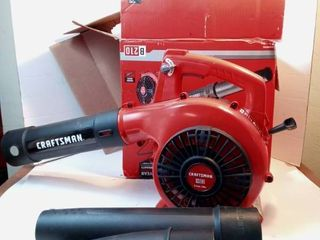 Craftsman Handheld Blower 2 Cycle 25cc
