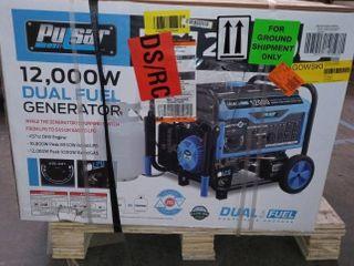 PUlSAR 12 000w Dual Fuel Generator  457cc OHV Engine