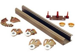 Prime line Products 163591 Bypass Closet Track Kit  72 Inch