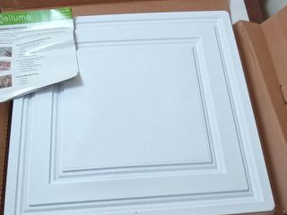Stratford 40 pk Ceiling Tiles  Size  2ft x 2ft White