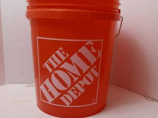 The Home Depot 5 Gal  Homer Bucket  Orange