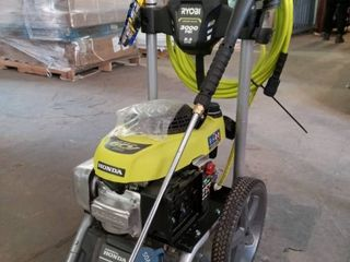 Ryobi 3000 PSI 2 3 GPM Honda Gas Pressure Washer and 15 in  Surface Cleaner