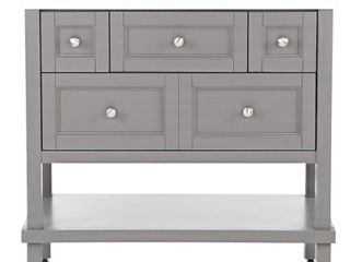 Glacier Bay Ashland 37 in  W x 19 in  D Bathroom Vanity in Taupe Gray with Cultured Marble Vanity Top in White with White Sink
