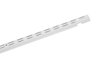 ClosetMaid ShelfTrack 0 87 in White Standard Upright