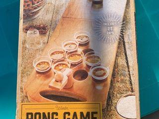 In Box liquor pong game