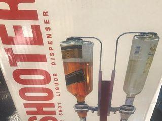 New bottle bar dispenser unit in box