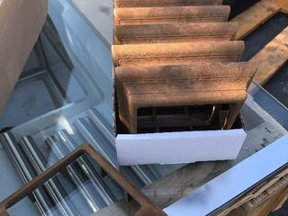 Case of 12 bottom post trim 4 x 4 great for your deck railings you sure imagination