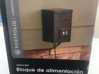 Outdoor lighting power unit