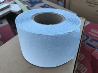 100 yd roll of white pavement striping reflective