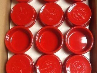 Case of red 2  5 ounce ramekins 48 in the case