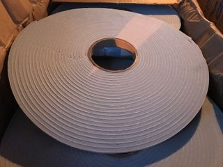 3  50 foot rolls of weather stripping