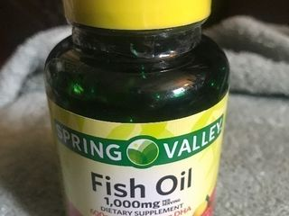 3  bottles of fish oil vitamins supplements 60 per bottle expiration date 07 2021