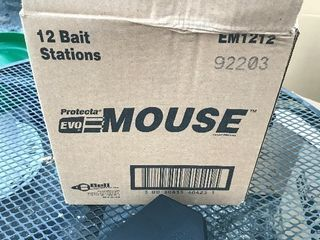 Case of 12 mouse bait units new in box