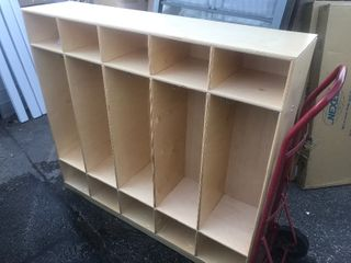 New mudroom organizer cubby can be used in daycare kids rooms Mudroom use your imagination