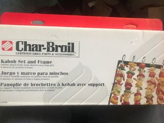 Charbroil kebab kit as picture