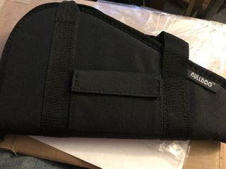 New pistol carrying case