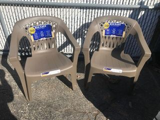 Two new big easy deck chairs