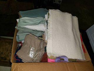 lot of Misc  linens Cloths