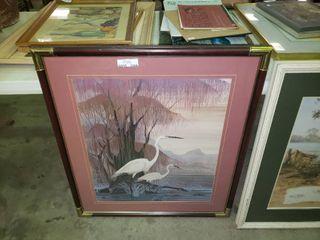 large Hero Nim Crane Print