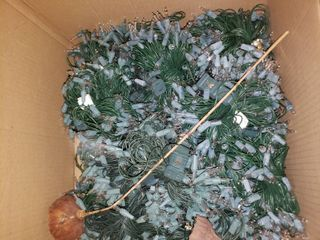 lot of Christmas Decor  TOTE NOT INClUDED BRING OWN BOX