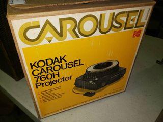 Kodak Carousel 760H Projector in Box