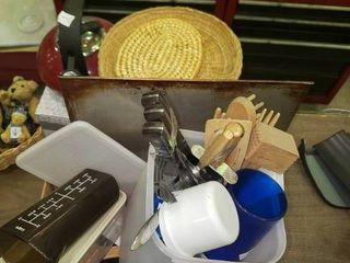 lot of Misc  Kitchenwares