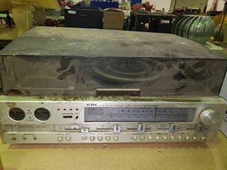 Vintage Yorx AM FM Multiplex Receiver