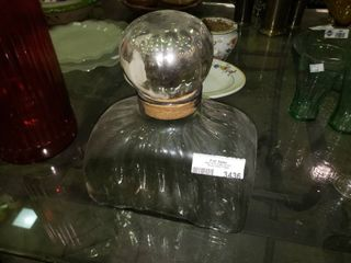 large Decorative Glass Container