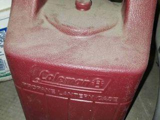 Vintage Coleman Propane lantern Hard Shell Carrying Case