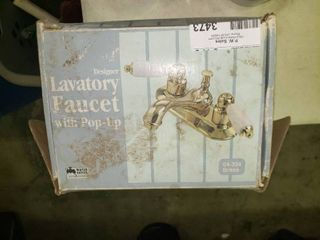 Brass Faucet in Box