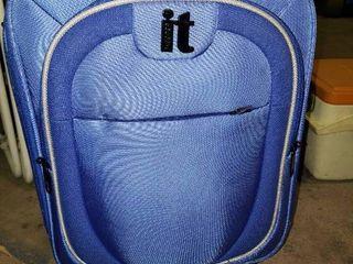 Blue it luggage Suitcase on Wheels