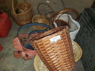 lot of Decorative Baskets