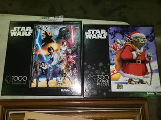 lot of 2 Star Wars Puzzles